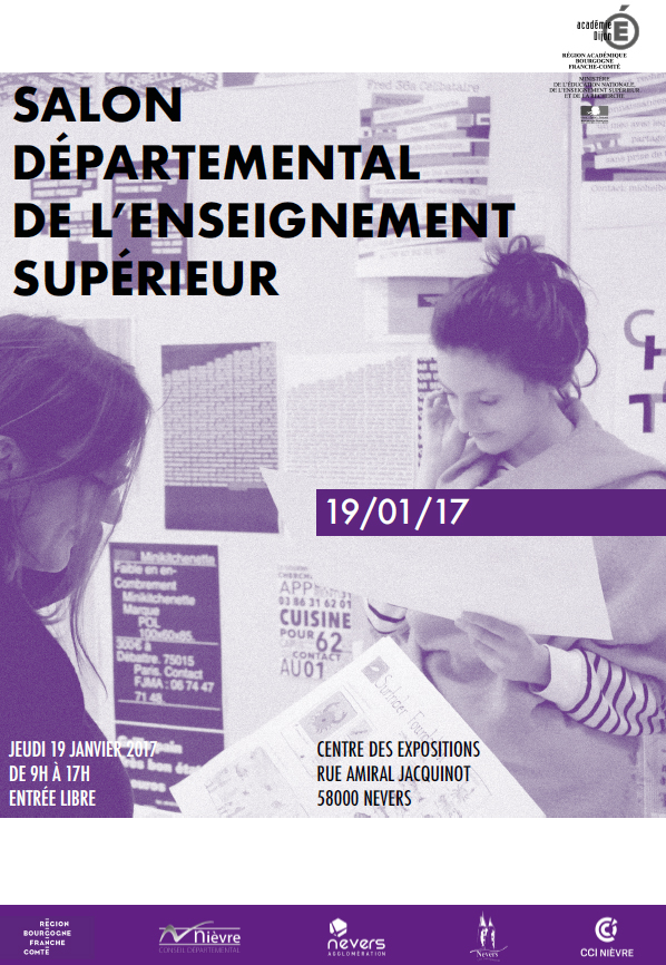 Salon departemental de l enseignement superieur 2017